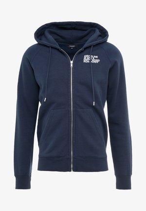 DISCIPLINE - Zip-up sweatshirt - navy