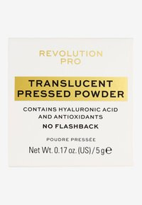 Revolution PRO - PERFECTING PRESSED POWDER TRANSLUCENT - Setting spray & powder - - - 1