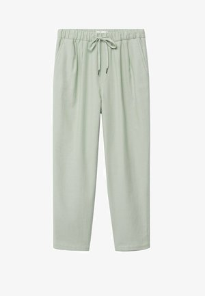 Trousers - verde agua
