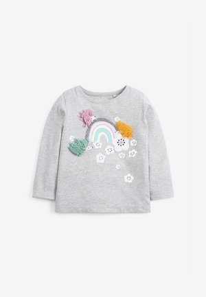 RAINBOW - Long sleeved top - grey