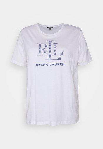 KATLIN SHORT SLEEVE - Print T-shirt - white