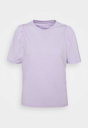 NMSHOUT - Basic T-shirt - pastel lilac
