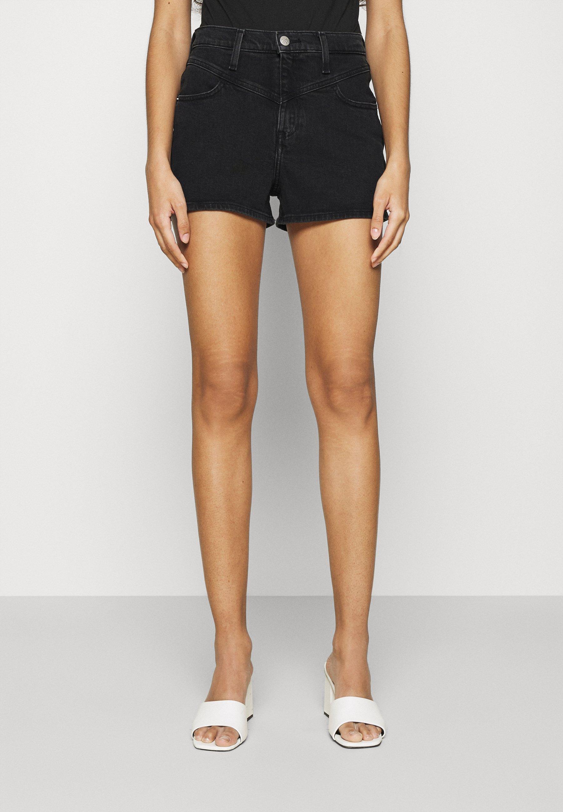 Women HIGH RISE SHORT - Denim shorts