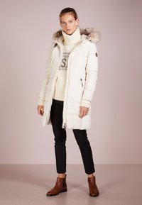Lauren Ralph Lauren - HAND TRIM  - Down coat - moda cream - 1