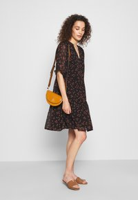 Modström - ERICA PRINT DRESS - Day dress - black - 1