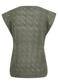 Cream - CRRYKKA  - Print T-shirt - agave green - 5