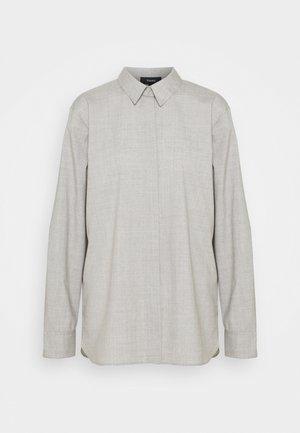 CLASSIC - Button-down blouse - light grey
