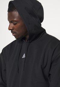 adidas Performance - Hoodie - black - 3