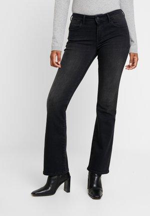 MEL - Flared Jeans - smoke supershape