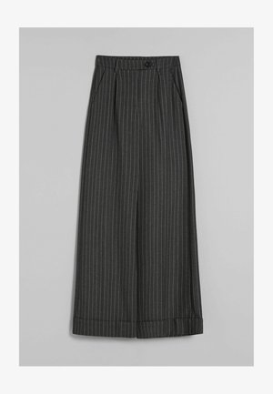 WIDE - Trousers - grey