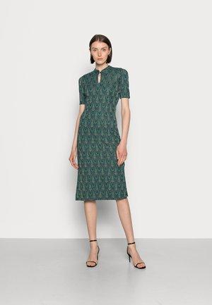 MIDI DRESS CLEOPATRA - Jerseykjole - pine green