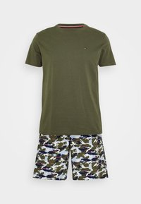 Tommy Hilfiger - WOVEN SET PRINT - Pyjamas - green - 3
