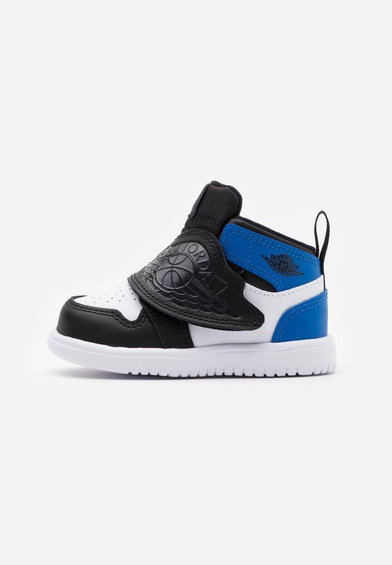 Jordan - SKY 1 UNISEX - Basketball shoes - white/sport blue/black