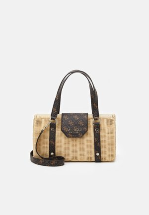 HANDBAG PALOMA SATCHEL - Torebka - brown