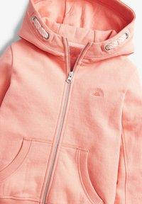 Next - FLURO - Zip-up hoodie - coral - 2