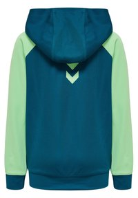 Hummel - ACTION - Zip-up hoodie - blue coral green ash - 1