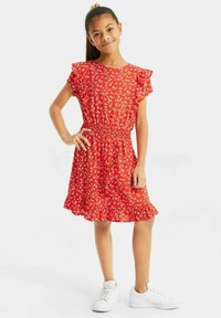 WE Fashion - Day dress - bright red - 0
