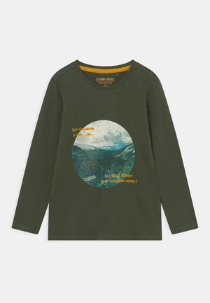 SMALL BOYS - Long sleeved top - kombu green