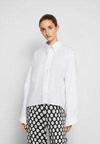 MM6 Maison Margiela - SHIRT - Button-down blouse - white - 0