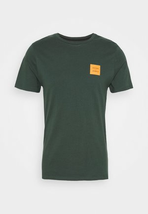 JCOJAY TEE CREW  NECK - Basic T-shirt - darkest spruce