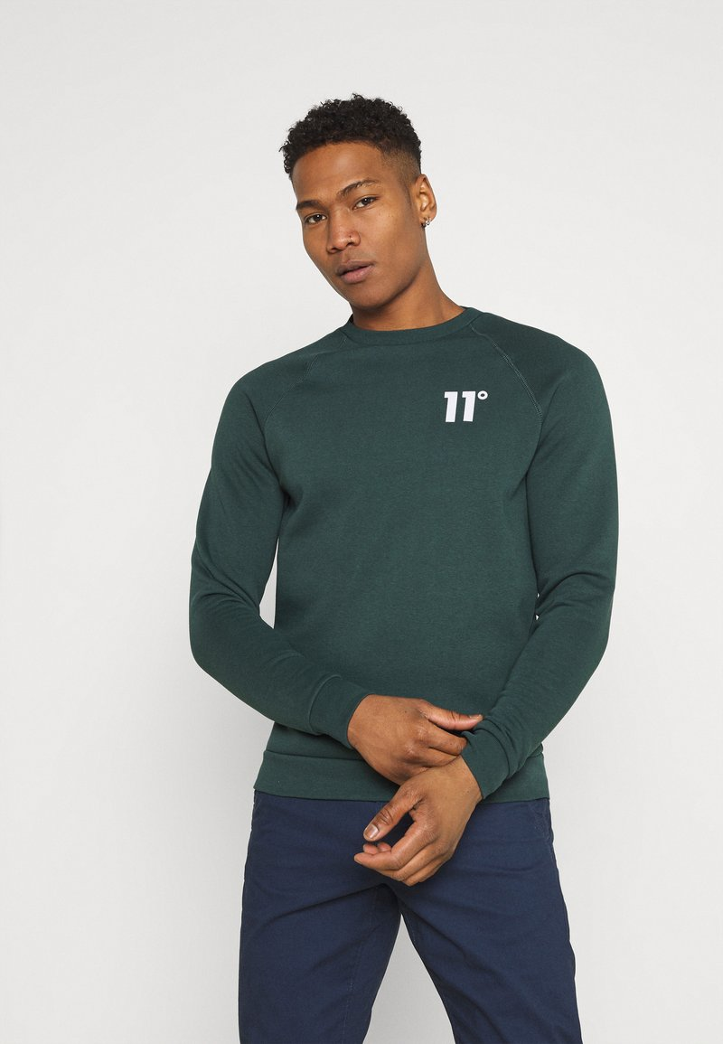 11 DEGREES - CORE - Sweatshirt - darkest spruce grey