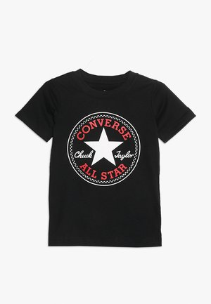 CORE CHUCK PATCH TEE  - T-Shirt print - black
