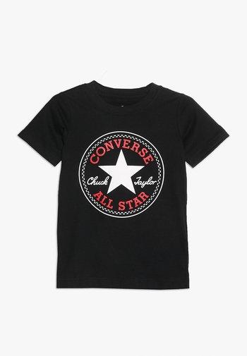 CORE CHUCK PATCH TEE  - T-shirts print - black