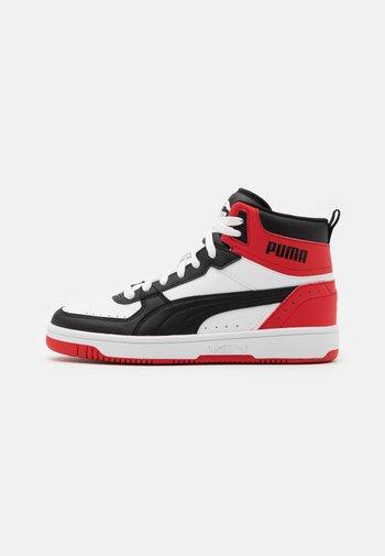 REBOUND JOY UNISEX - Sneakers alte - white/black/high risk red