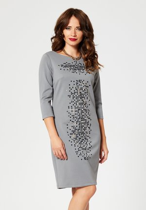 Koktejlové šaty/ šaty na párty - grey