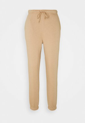 PCCHILLI - Tracksuit bottoms - warm taupe