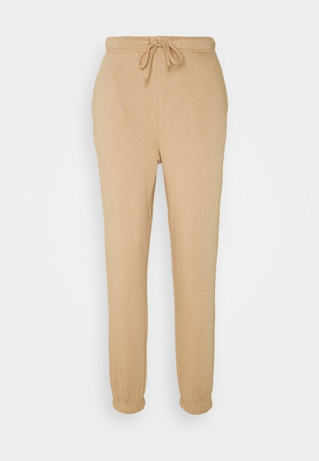 PCCHILLI PANTS - Pantaloni sportivi - warm taupe