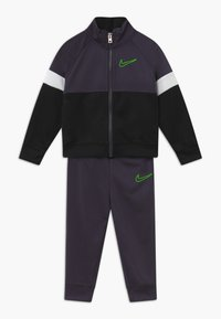 Nike Sportswear - COLOR BLOCK TRICOT BABY SET  - Tracksuit - black - 0