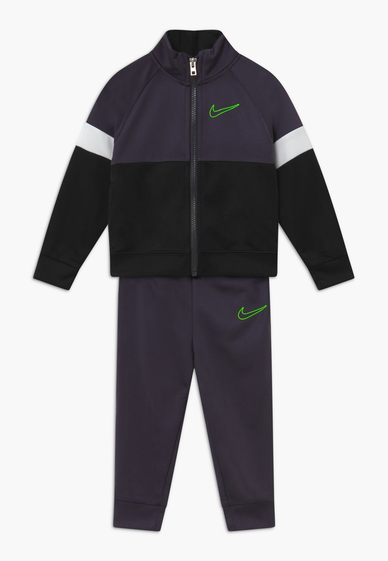 Nike Sportswear - COLOR BLOCK TRICOT BABY SET  - Tracksuit - black