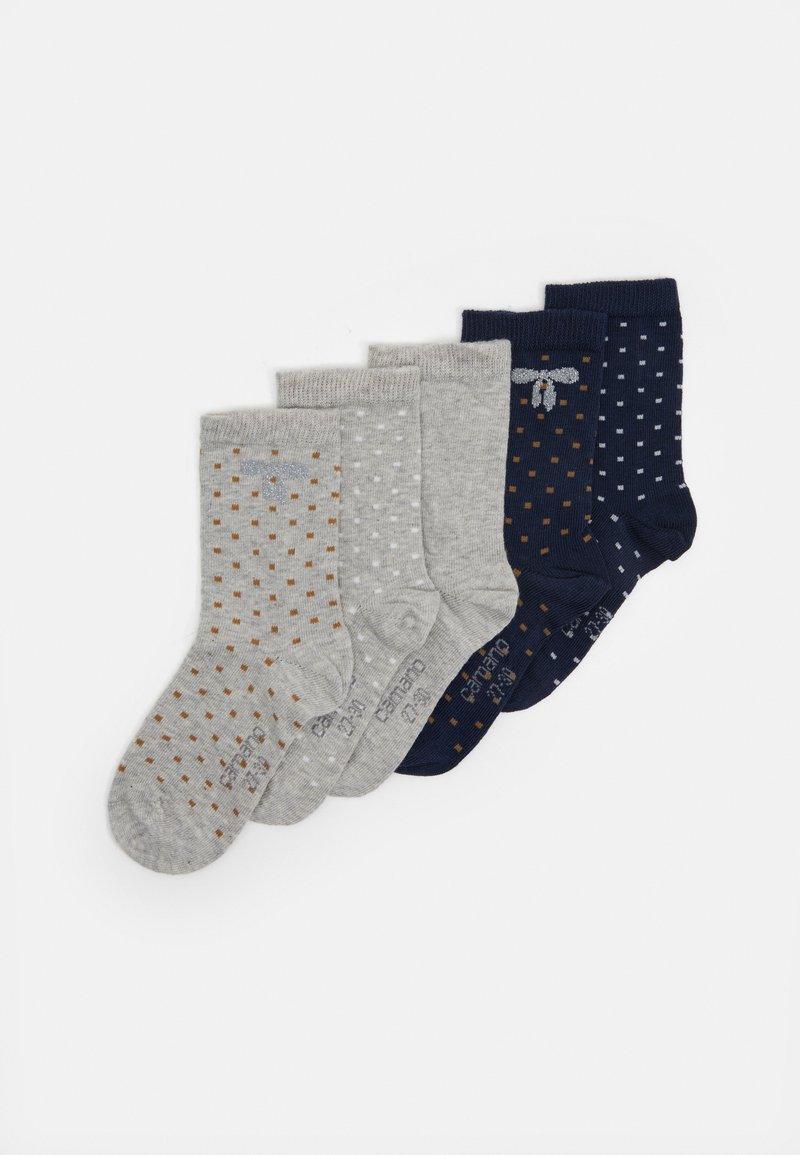 camano - ONLINE CHILDREN SOCKS 5 PACK - Socks - fog melange