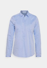 Opus - FALENTA DOBBY - Button-down blouse - blue mood - 4
