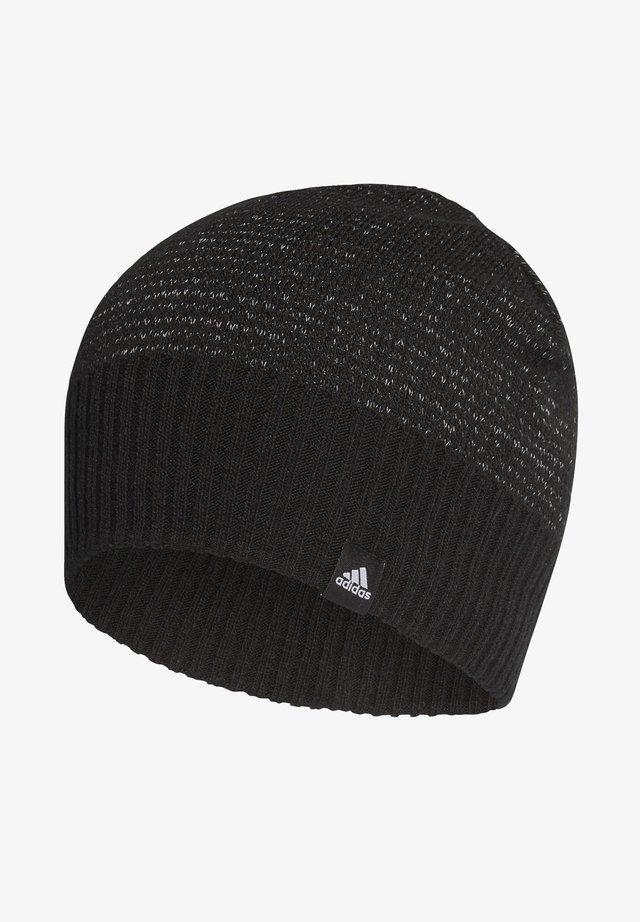REFLECTIVE BEANIE - Mütze - black
