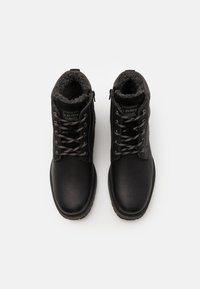s.Oliver - Lace-up ankle boots - black - 3