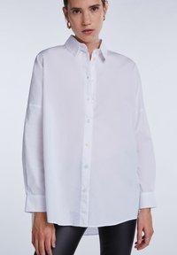 SET - Button-down blouse - bright white - 6