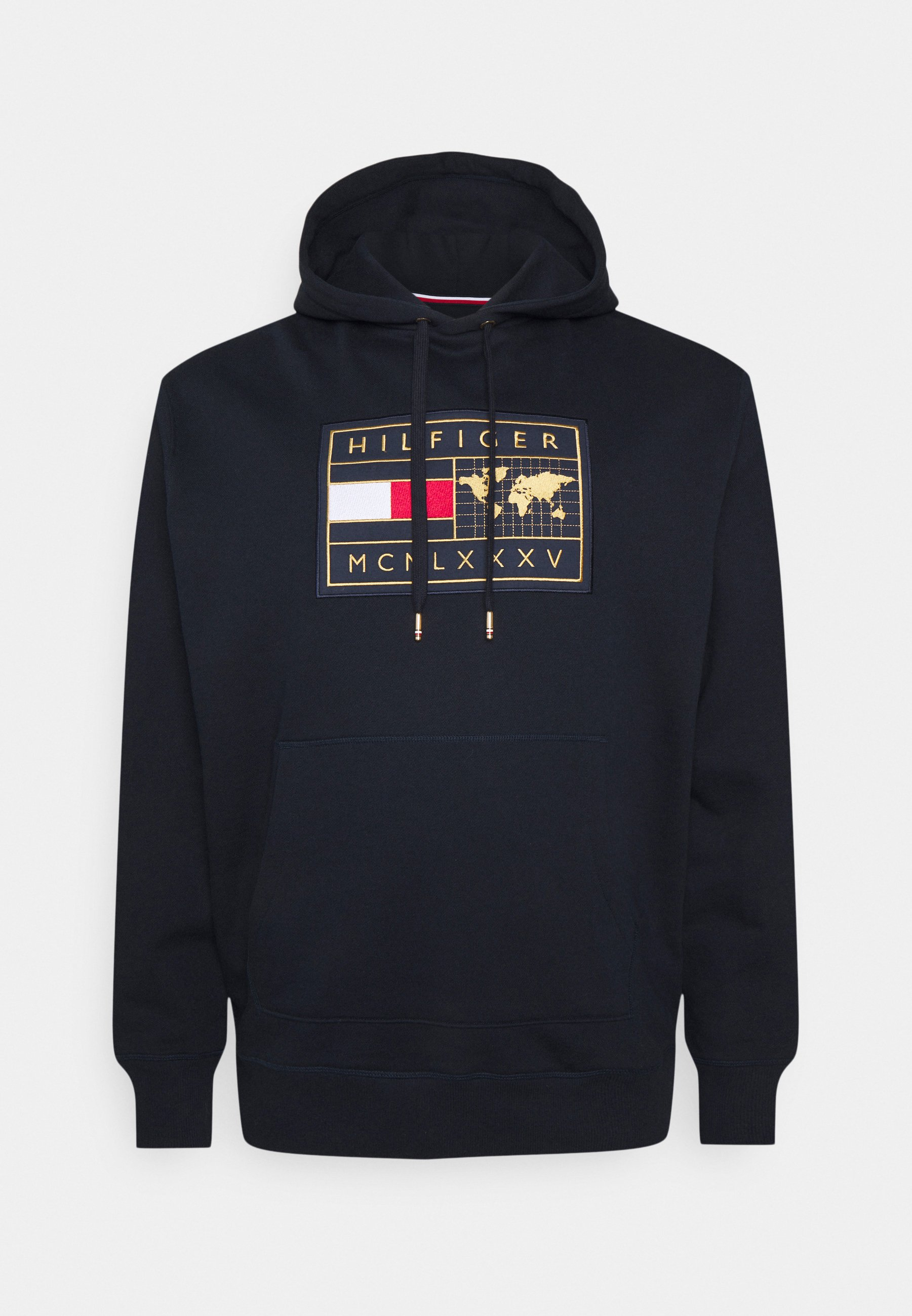 Men ICON EARTH BADGE HOODIE - Sweatshirt