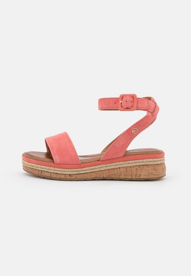Sandales à plateforme - candy