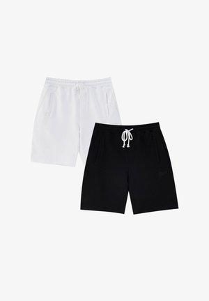 DOPPELPACK - Shorts - white