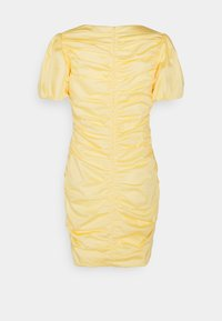 Nly by Nelly - THE CUTEST RUCHED DRESS - Cocktail dress / Party dress - light yellow - 7