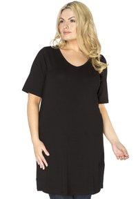 Yoek - Basic T-shirt - black - 0