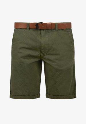 CHINOSHORTS MONTIJO - Shorts - dusty olive