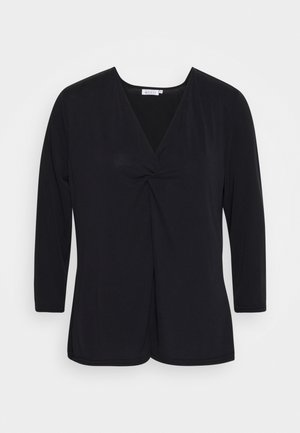 BABUSKA - Long sleeved top - black