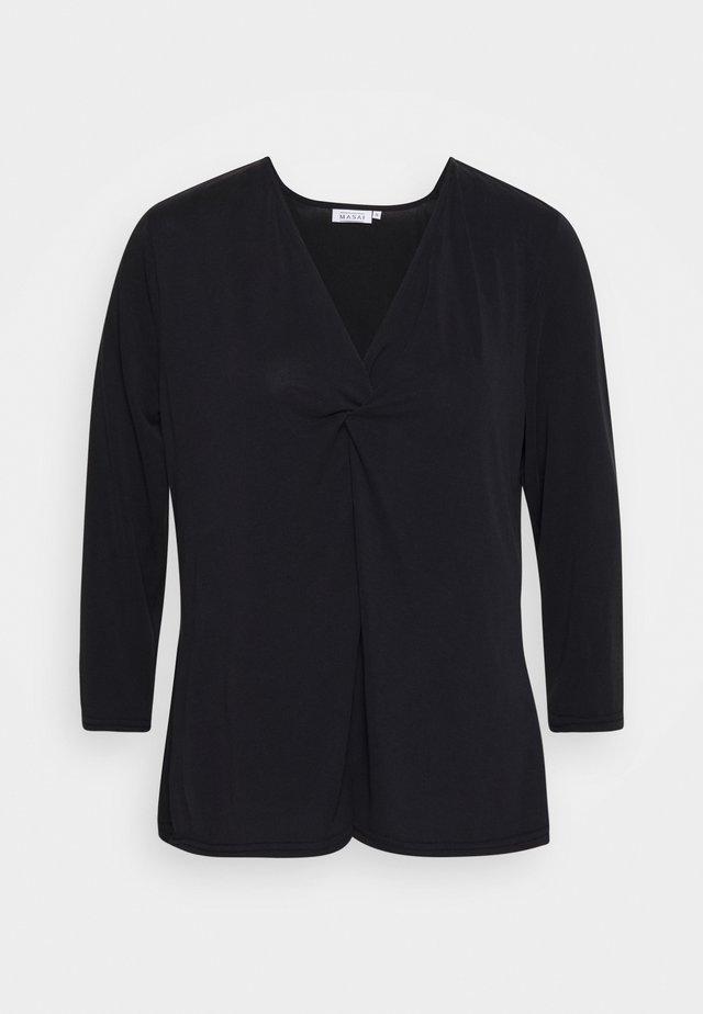 BABUSKA - Maglietta a manica lunga - black