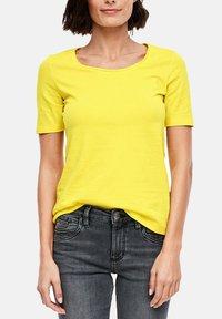 s.Oliver - Basic T-shirt - yellow - 2
