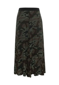 True Religion - A-line skirt - camouflage - 1