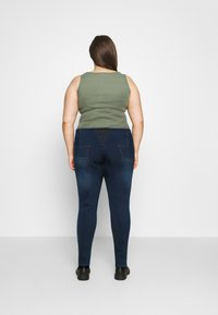 Simply Be - HIGH WAIST SHAPER - Jeggings - indigo - 2