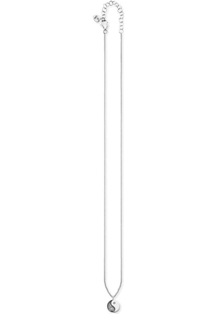 Caï Yin Yang - Halskette Silver/silber